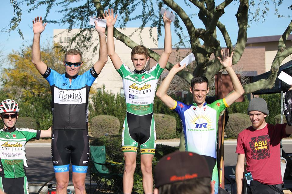 3rd place finish in the Avondale Crit Cat4