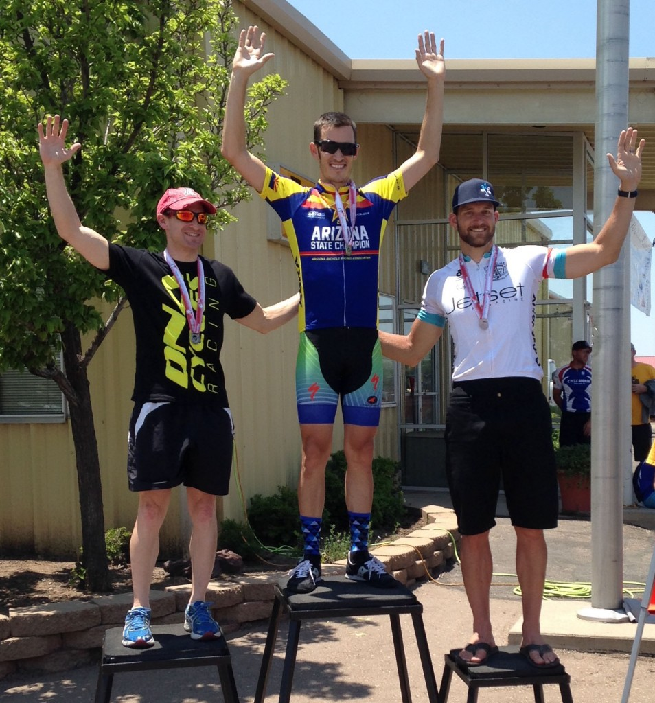 2015 State Road Race Champion Evan Robold