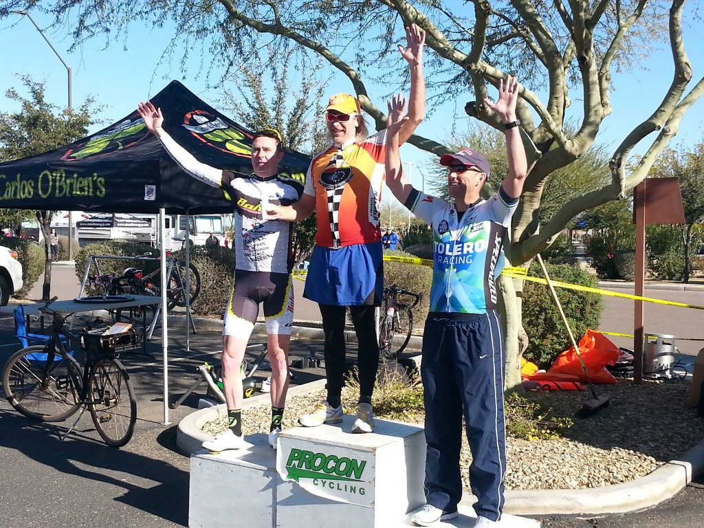 Podium finish for Kelly  Poarch in Cat 4/5 40+